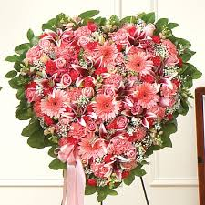 Flower Delivery Nyc Mixed Flower Heart Flower Delivery Nyc Florist Plantshed Com