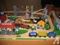 imaginarium classic train table with roundhouse black canyon express train for sale in kenton ohio classified
