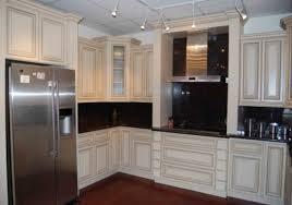 Mocha Kitchen Cabinets Antique White Glazed Kitchen Cabinets Ellajanegoeppinger Com
