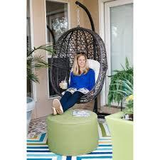 Garden Egg Swing Chair Outdoor Hanging Chairs U0026 More Backyard U0026 Garden Hayneedle