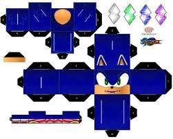 Sonic The Hedgehog Papercraft - sonicdahedgehog06 sonic deviantart