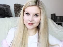 mac velvet teddy on pale skin blonde hair review make up
