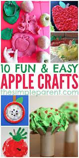 10 sweet apple crafts for kids