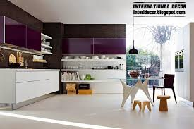 contemporary kitchen interiors purple kitchen interior design and contemporary kitchen design