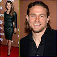 Keri Russell & Charlie Hunnam: FX Upfront Bowling Event! | Katey ...
