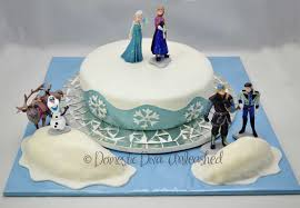 frozen birthday cake frozen birthday cake domestic unleashed