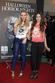kathryn newton and georgica pettus at the annual eyegore awards