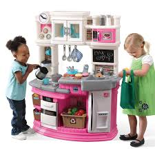 Pretend Kitchen Furniture Virginia Step2 Lil U0027 Chef U0027s Gourmet Kitchen Pink Step2 Toys