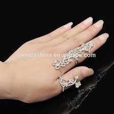 finger chain rings images Simple ladies turquoise new design gold finger ring buy new jpg