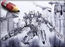 pencil sketching transformers download pencil sketching
