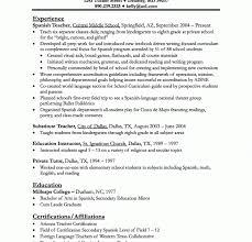 Spanish Teacher Resume Sample Private Tutor Resume Tutor Resume Sample Berathencom Tutor