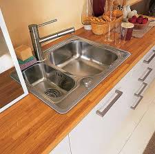 Stylish Kitchen Countertop Materials  Modern Kitchen Ideas - Kitchen counter with sink