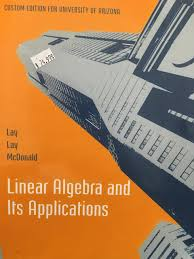 linear algebra and its applications 5th edition lay