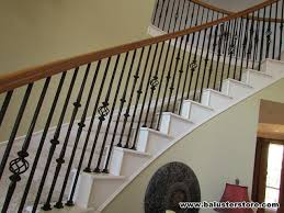 Iron Banister Spindles High Quality Iron Balusters For Stairs Railing Iron Stair Parts
