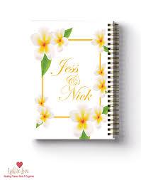 The Best Wedding Planner Book Frangipani Design Wedding Planner Book Wedding Organiser