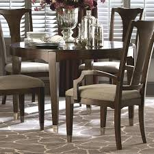 dining room sets leather chairs vintage bassett dining room furniture table and chairs sets