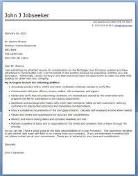 loan officer assistant cover letter