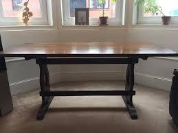 vintage jaycee solid oak dining table in west end glasgow gumtree