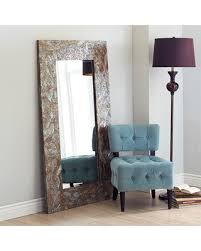 mother of pearl floor l get the deal 37 off crackled mother of pearl floor mirror