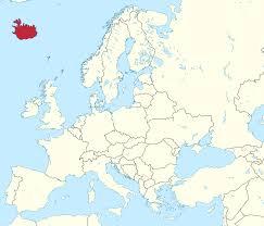Map Of Northern Europe by Map Of Northern Europe For Of Iceland And Map Of Iceland And