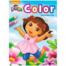 nickelodeon color book dora color 30 cm internet toys