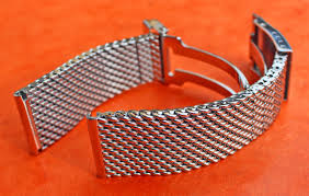bracelet mesh images Breitling bracelet ssteel 22mm mesh milan highly polished jpg