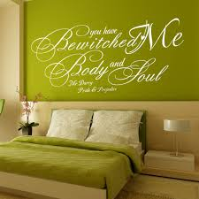 Wall Decals Patterns Color The by Aliexpress Com Buy You Have Bewitched Me Body And Soul Wall