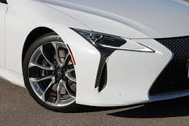 white lexus 2018 test drive 2018 lexus lc 500h and lc 500 exhausted ca