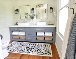 46 paint colors farmhouse bathroom ideas round decor