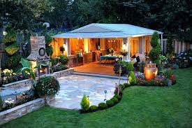 patio ideas amusing cheap backyard desert landscaping ideas