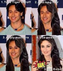 Kareena Kapoor Memes - being compared to kareena kapoor is a compliment tiger shroff