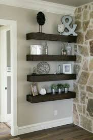 Wood Shelves Design by Dear Lillie A Few Simple Touches Christmas In Jason U0027s Kitchen