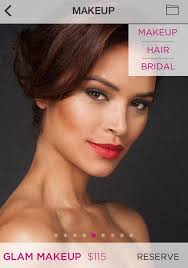 hair and makeup app la s best beauty apps for at home hair makeup services racked la