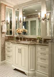 Traditional Bathroom Vanity by Traditional Bathroom Vanity Bathroom Victorian With Framed Mirrors