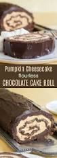 gluten free pumpkin cheesecake flourless chocolate cake roll