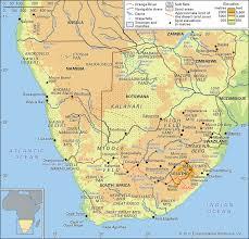 africa map kalahari kalahari desert map facts britannica
