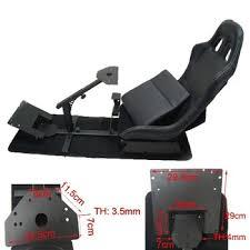 siege pour jeux pliable jeu de course de siège de simulateur de course cockpit