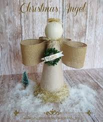 Homemade Christmas Decorations Angels by 10 Beautiful Diy Christmas Angel Crafts And Ornaments
