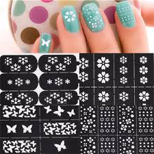 compare prices on stencil nail templates online shopping buy low