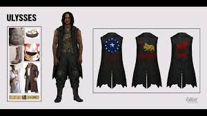 fallout new vegas halloween costume i u0027m looking for a clean image of ulysses u0027 old world flag fallout