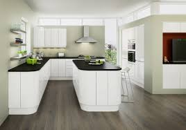 planar white contemporary kitchen kitchen ideas pinterest