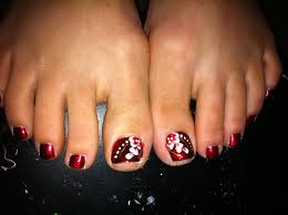 foot nails art choice image nail art designs