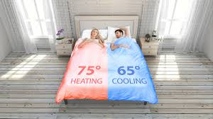 smartduvet breeze heat u0026 cool self making bed dudeiwantthat com
