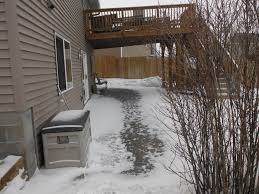 frost heave and deck footings