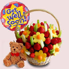 get well soon baskets fruity gift get well soon fruit basket package
