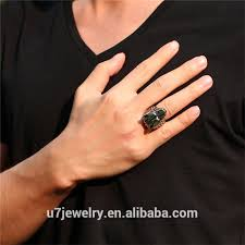 cool finger rings images U7 mens 316l stainless steel boys rings cool metal wolf head boss jpg
