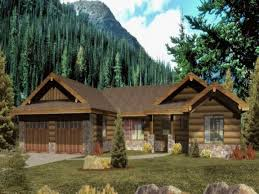 Farmhouse Plans Wrap Around Porch by Ranch Style Log Homes With Wrap Around Porch Ranch Style Log Home