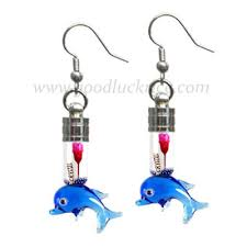 Rice Name Necklace Rb 23 Blue Dolphin Bottle Rb 23 14 95 Goodluckrice Name