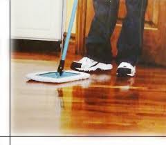 hardwood floor buffing and polishing our meeting rooms