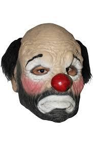 it clown halloween mask hobo clown mask purecostumes com